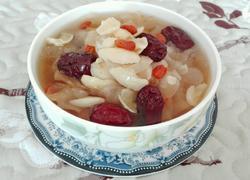 百合红枣银耳汤