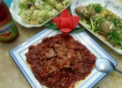 洋葱茄汁牛柳粒