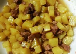 宝宝菜土豆炖肉