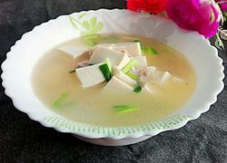 白豆腐瘦肉汤