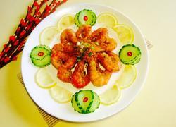 喜气洋洋 (香酥椒盐虾)