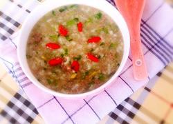 牛肉青菜粥