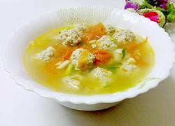肉圆番茄汤(团圆)