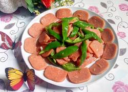 三文治香肠炒辣椒