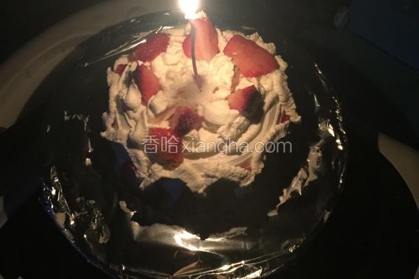 奶油草莓蛋糕6寸