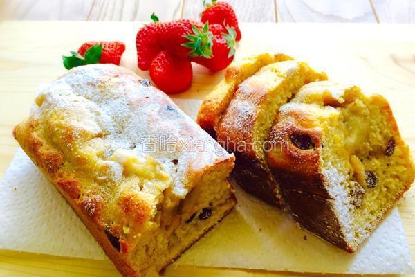 蜂蜜香蕉磅蛋糕