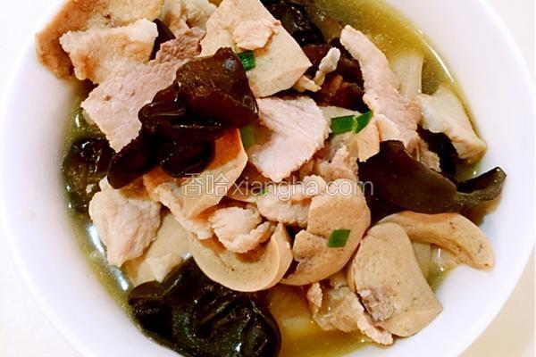 猪腰肉片汤