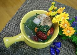 艾叶猪骨红枣汤
