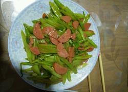 芹菜火腿片