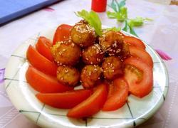 红红火火(糖醋虎皮鹌鹑蛋)