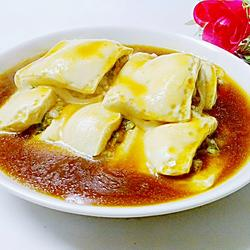白豆腐夹肉