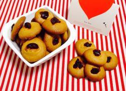 蔓越梅黄豆饼干