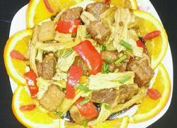 红烧腐竹、肉