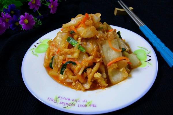 辣白菜(速腌版)