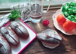 可可红豆面包