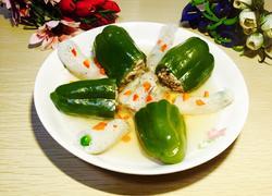 竹荪青椒酿