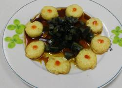 皮蛋拌玉子豆腐