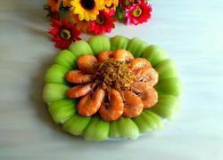 蒜蓉油菜大虾