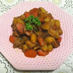 胡萝卜土豆烧里脊