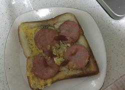 简易煎面包