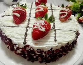 草莓奶油蛋糕[圖]