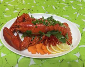 清蒸龙虾[图]