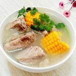 排骨玉米汤(清炖)的做法[图]