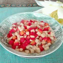 杏鲍菇炒红萝卜