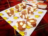 沙拉肉松双色海绵蛋糕卷的做法[图]