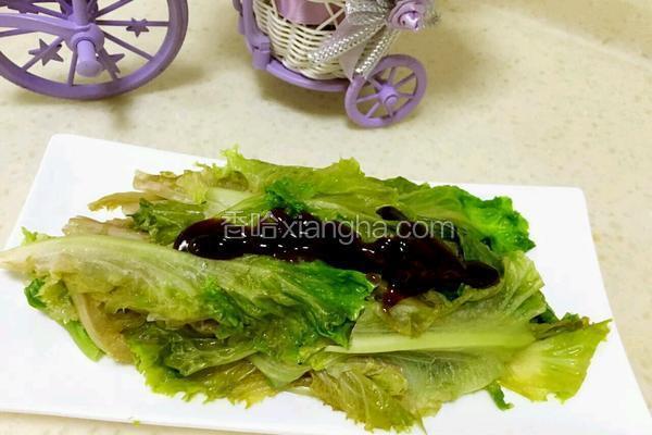 蚝油生菜(财)