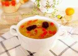 银耳绿豆汤