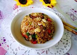 肉末鸡蛋炒米饭
