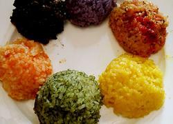 彩色糯米饭