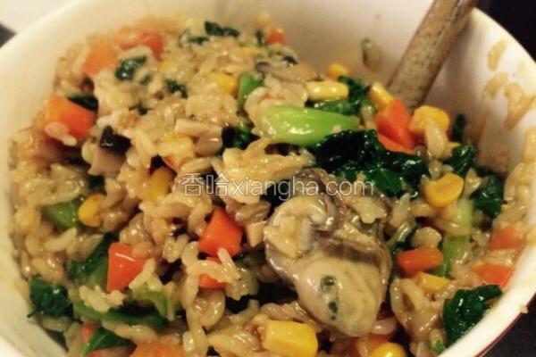 闽南古早味~生蚝焖菜饭