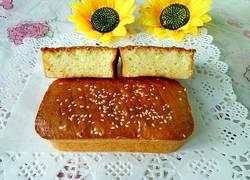 无水蜂蜜方蛋糕