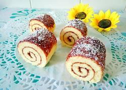 蓝莓椰丝蛋糕卷