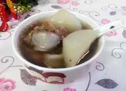 沙葛猪大骨汤