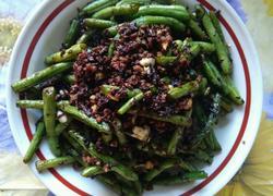 橄榄菜烧芸豆
