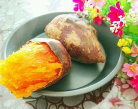 甜香烤红薯[图]