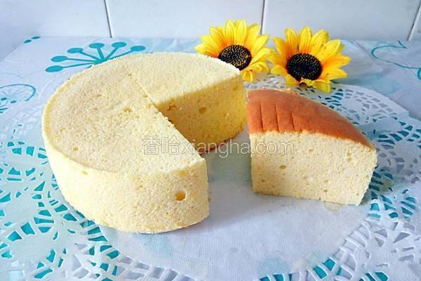 玉米面酸奶戚风蛋糕