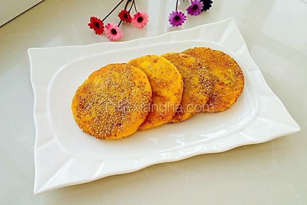 炼乳香甜南瓜饼