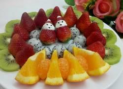 水果拼盘(情人节创意)