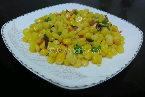 彩蔬玉米粒