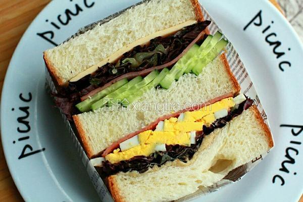 百变三明治