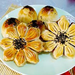莲蓉酥(豆沙酥)