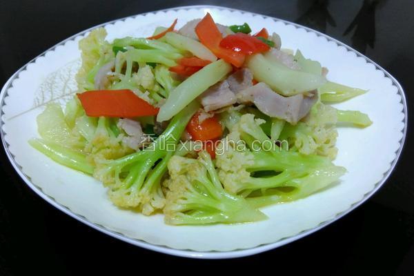 花菜炒咸肉