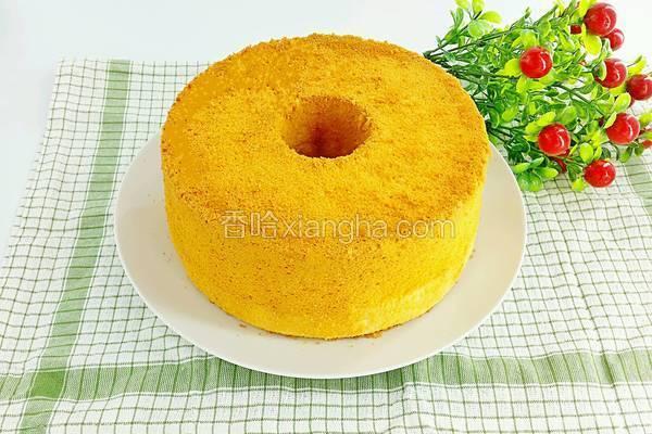 奶酪戚风蛋糕
