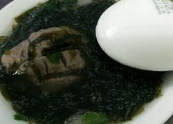 牛肉丸紫菜汤