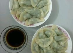 荠菜豆腐水饺