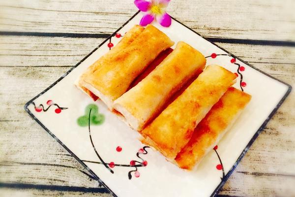 白菜猪肉春卷